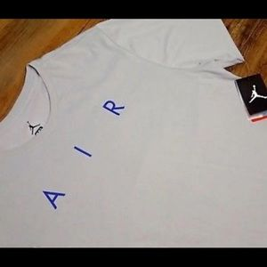Jordan Shirts - Nike Air Jordan Retro Wolf Grey Shirt, XXL, BNWT